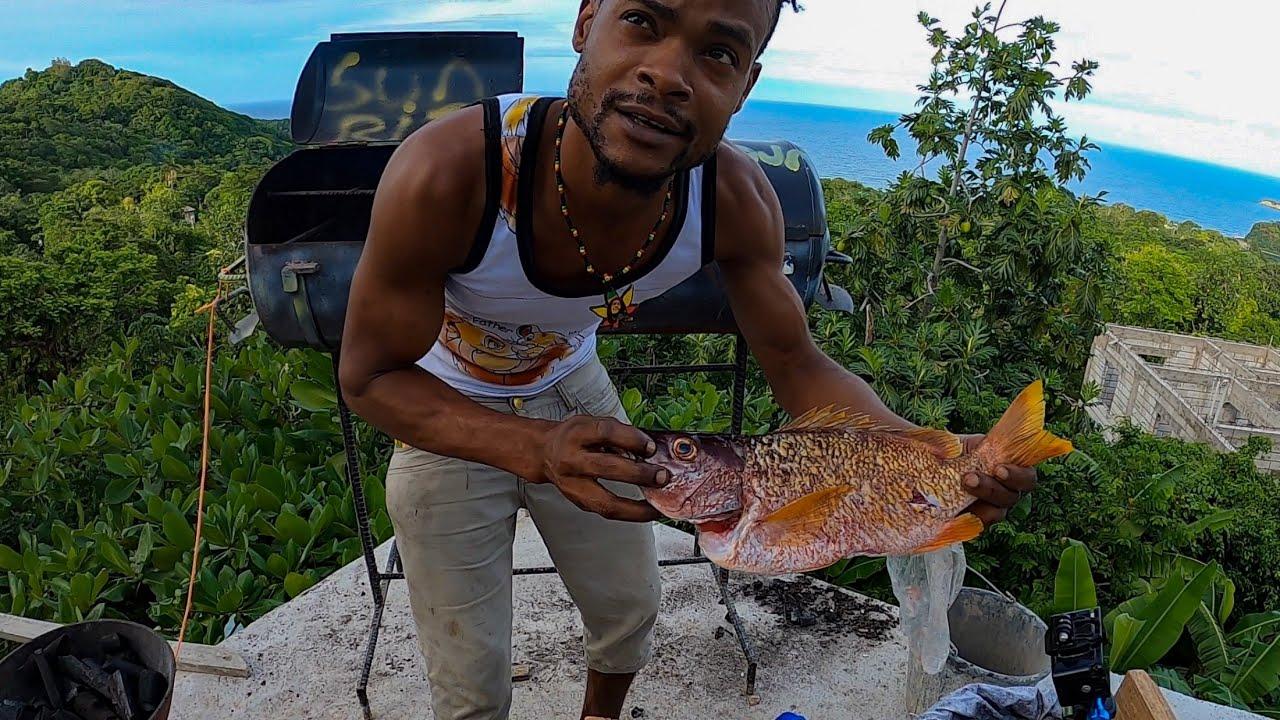 Jamaica Sunrise TV | Snapper Catch N' Cook