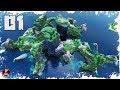 Minecraft Timelapse - EPIC Extreme Hills Biome Transformation! - (WORLD DOWNLOAD)