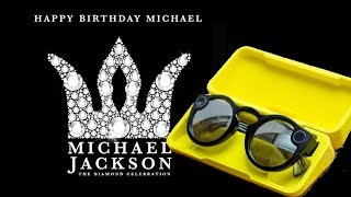 Michael Jackson's 60th Birthday In Vegas using Snapchat Spectacles V2 Indoor/Night Demo!