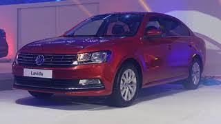 Volkswagen launched was four new cars with Lavida, Lamando, Santana/Santana GTS and the New Tiguan