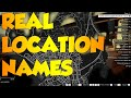 GTA 5 PC MODS  - REAL LOCATION NAMES