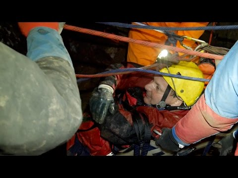 Cave Rescue Practice