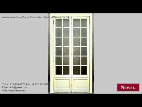 American Antique Doors Federal Architectural Elements for
