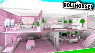 I MADE A DOLLHOUSE IN BLOXBURG! (Roblox Bloxburg)