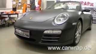 Porsche Carrera 4S full Car-Wrap