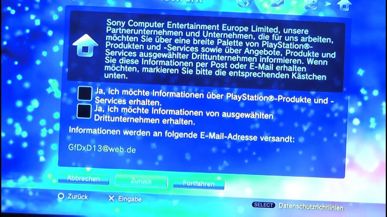 PlayStation 3 Deutschen Online Account erstellen Tutorial [GERMAN ...