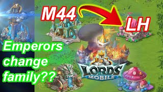 m44 Emperors sold to LH + History Lecture - 王國紀元 Lords Mobile