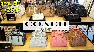 COACH OUTLET PURSE DEALS 70% OFF PLUS EXTRA 25% * SHOP WITH ME JULY 2019