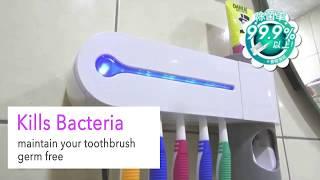 3in1 toothbrush sterilizer dispenser holder