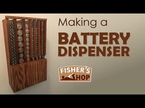 Woodworking: Making a Battery Dispenser