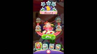 Candy Crush Friends Saga level 6-7 GETTING FREE GIFTS!