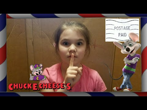 I Mailed Myself to Chuck E. Cheese and It Worked!! Skit
