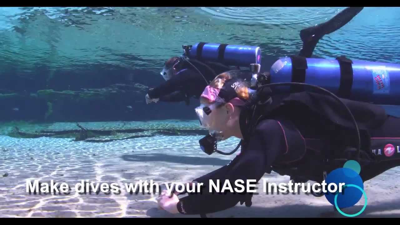 The New NASE Advanced Open Water Course - YouTube