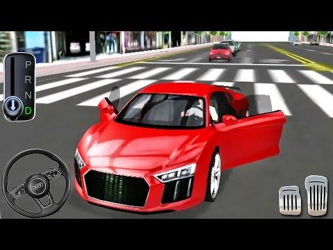 Car Driving Audi - Driver's License Examination Simulation - Android GamePlay #3