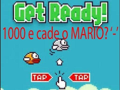 Flappy Bird - 1000 e cade o Mario?