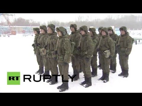 Russia: Meet the elite paratrooper cadets drilling in English