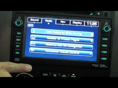 getting to know your 2011 chevrolet tahoe how to use the navigation rh youtube com Custom 2007 Avalanche 2005 Avalanche