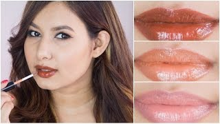 DIY Nude Lip Glosses Using Eye Shadows   Sonal Sagaraya