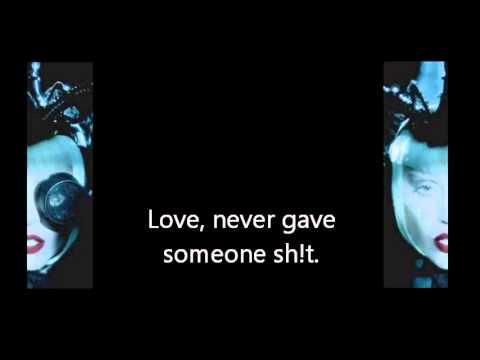 Lady Gaga  Alejandro  Reversed w lyrics