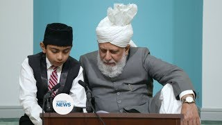 Khalifa hosts Aameen ceremonies across America