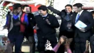 Rare dance video of Minister RPN Singh