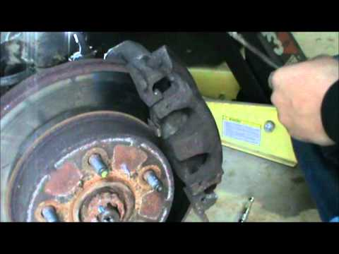 2000 JEEP GRAND CHEROKEE FRONT BRAKE REPLACEMENT DIY