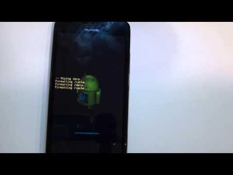 Huawei Ascend G620S HARD RESET - Restaurar / Resetear - Quitar Patron HD
