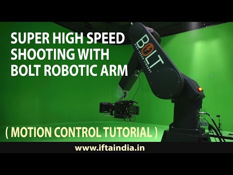 High Speed and Bolt Robotic Motion Control Technique ( Complete Tutorial )