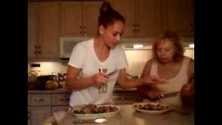 How To Cook Grilled Maple Sugar Ham Wrapped Asparagus: Cooking With Kimberly