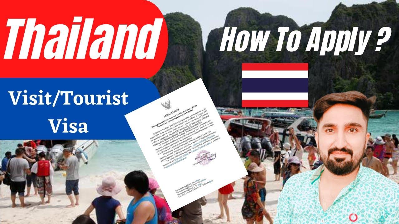 Good News Bangkok is ReOpening - Thailand Visit Visa   How to Apply Thai Visit Visa from Pakistan ?
