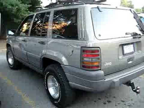 96 39 jeep grand cherokee zj for sale youtube. Black Bedroom Furniture Sets. Home Design Ideas