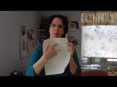 Quilting - How I Make My Quilt Labels