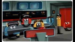 Google Logo Boldly Goes With Interactive Star Trek Doodle