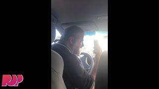Uber Driver Loses His Mind At Passenger That Won