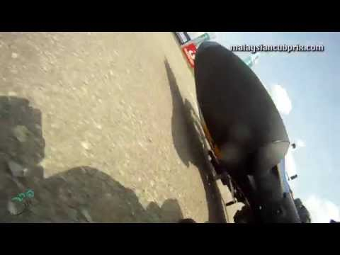 2014 Cub Prix Rd5 Temerloh - On-board Crash during Free Practice 2