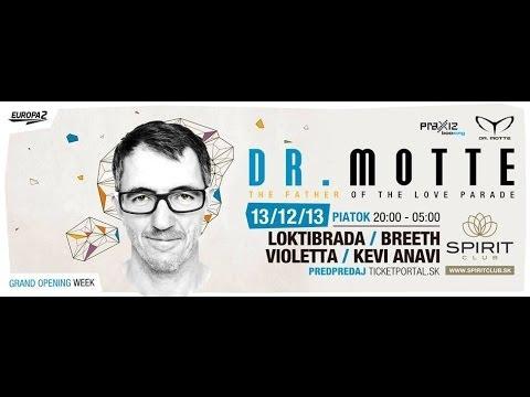 """Dr. Motte Live Mix in Spirit Club Bratislava 2013 """"HD"""""""