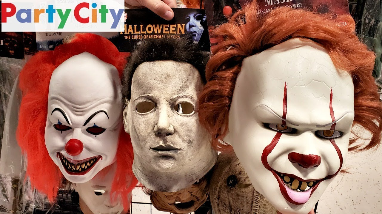 Halloween City Halloween 2020 Michael Myers Mask PARTY CITY HALLOWEEN * NEW * 2019 MASK   YouTube