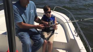 logan from video game world first real fishing trip fun hobbies for kids
