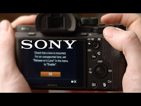 How to fix lens communication error on Sony cameras