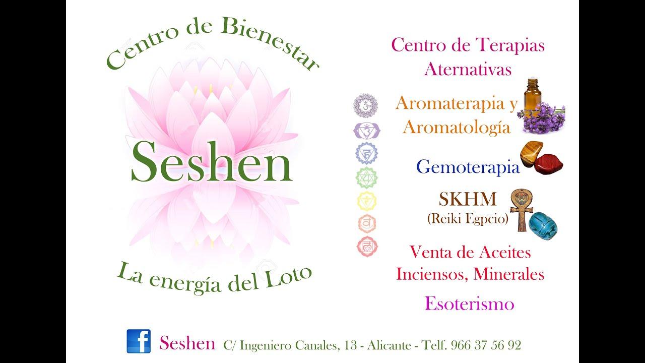 SESHEN - CENTRO DE TERAPIAS ALTERNATIVAS - YouTube