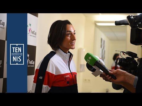 Fed Cup 2019 - Belgique / France : les réactions après le tirage au sort | FFT