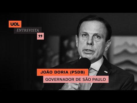 JOÃO DORIA ANALISA REUNIÃO COM BOLSONARO E COMBATE AO CORONAVÍRUS