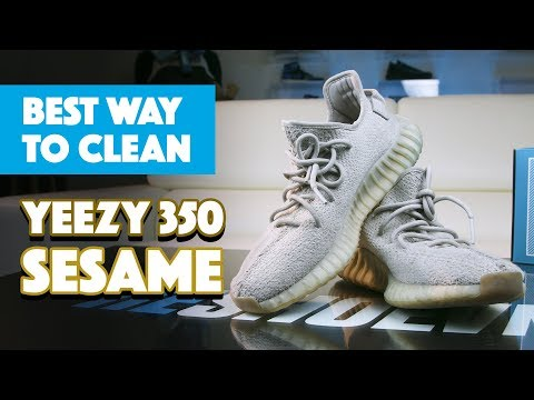 The Best Way To Clean Yeezy 350 Sesame With Reshoevn8r!