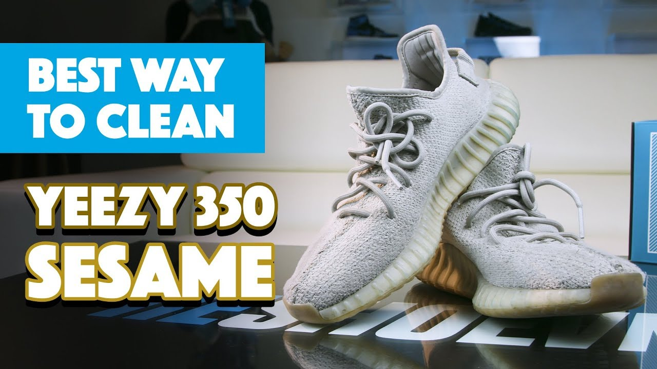 The Best Way To Clean Yeezy 350 Sesame