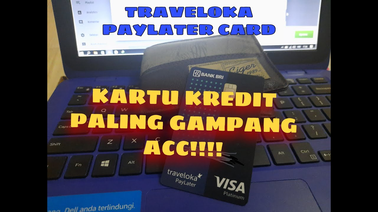 traveloka paylater card by bri credit