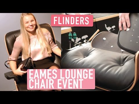EAMES lounge chair event bij FLINDERS | Furnlovers