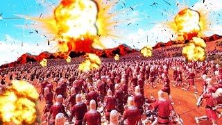 EJERCITOS VS BOMBAS NUCLEARES | ULTIMATE EPIC BATTLE SIMULATOR #3