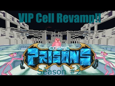 "Cosmic Prison ROAD TO LEVEL 100! ""VIP Cell Revamp!!"" (Season 2 Ep. #22)"