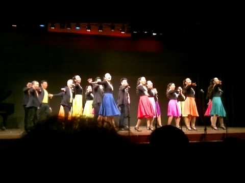 U.P. Concert Chorus: Earth Wind & Fire Medley