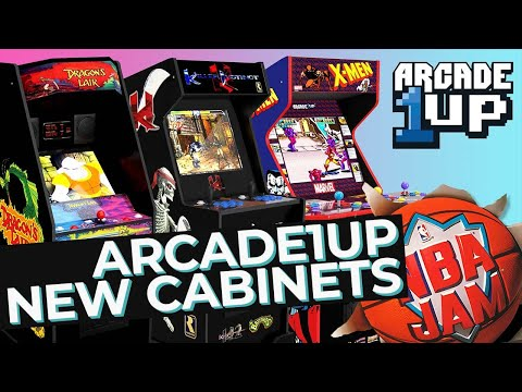 New Arcade1Up Cabinets & NBA Jam Doco from Big Week in Gaming Podcast